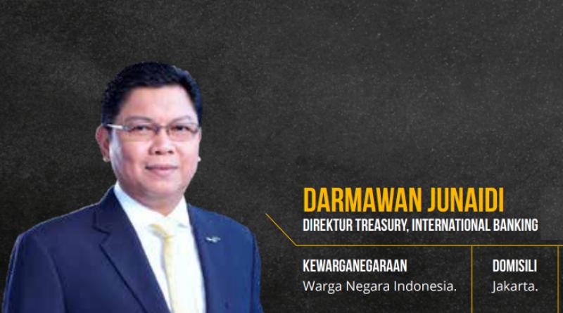 Profil Darmawan Junaidi: Dari Credit Recovery, Jagoan Treasury Hingga jadi Bos BMRI