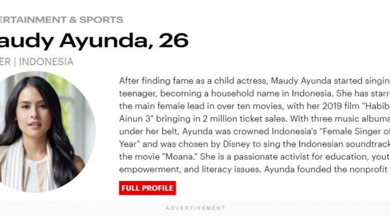 Profil Forbes 30 Under 30 dari Indonesia 2021: dari Maudy Ayunda Hingga Jennifer Heryanto