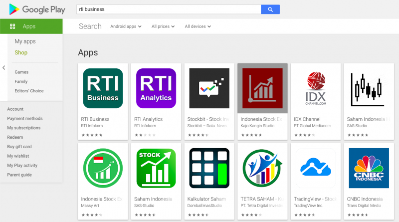 5 Aplikasi Saham Android Terbaik untuk Pemula