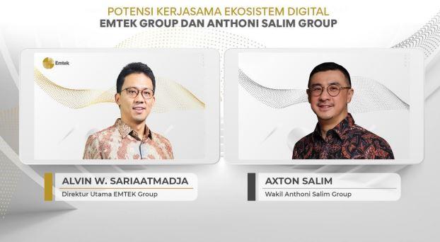 Saham EMTK Salim Group