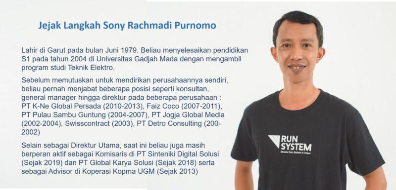 Sony Rachmadi Purnomo